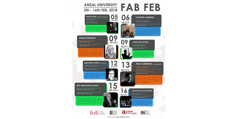 Ansal University FAB FEB 5th - 16th February